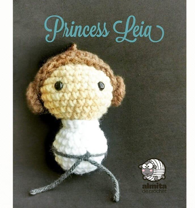 Princess Leia amigurumi