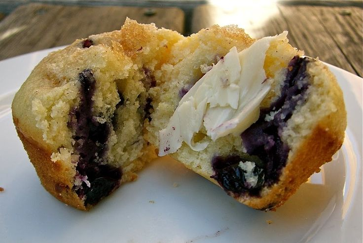 Blueberry lemon coffee cake muffins recipe with images