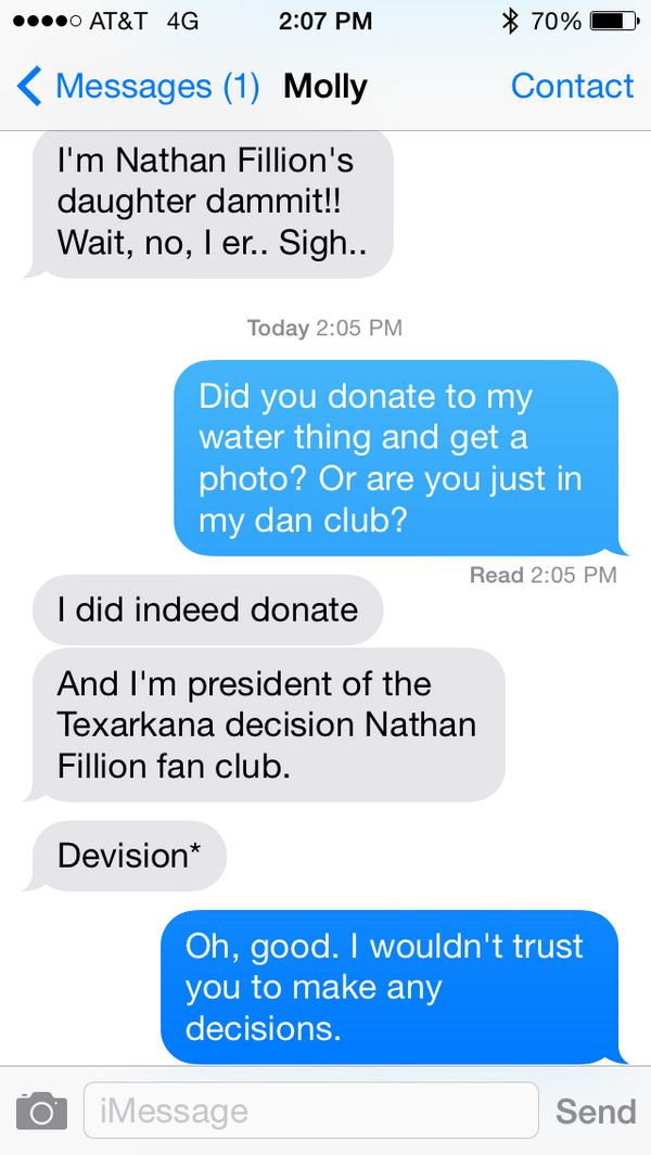 Texts from Nathan part 1