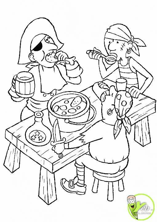 - Coloriage jack le pirate ...