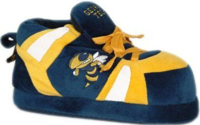 Comfy Feet Georgia Tech Yellowjackets 01 Bedroom Slippers,Blue/Yellow/White,L M US Comfy Feet. $29.95