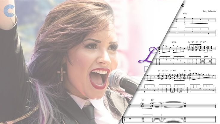 Double Bass - Let it Go - Demi Lovato - Sheet Music, Chords, & Vocals