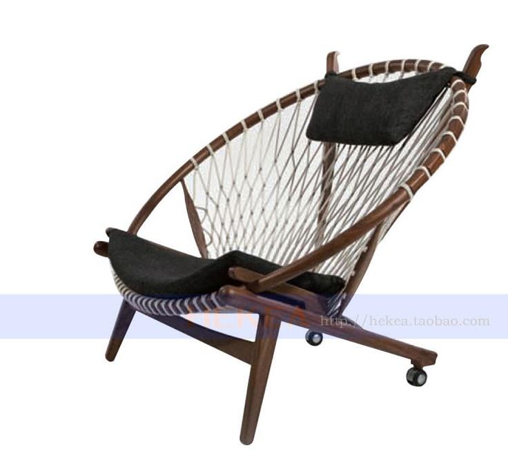 RMB 2206 北欧沙发躺椅折叠椅午休椅靠椅睡椅懒人椅