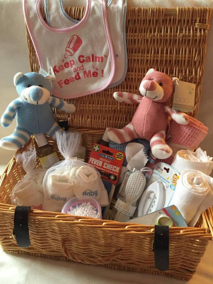 'When Pink Meets Blue' Baby Gift Hamper for Twins