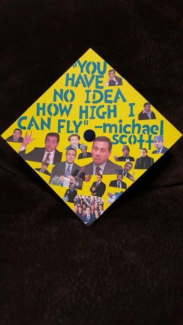 The Office Graduation Cap Michael G Scott Graduation