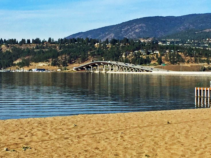 Beach and William R. Bennett bridge