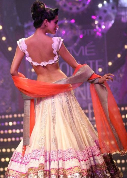 gorgeous lehenga & choli blouse by @Manish Malhotra  http://www.manishmalhotra.in/flash.html