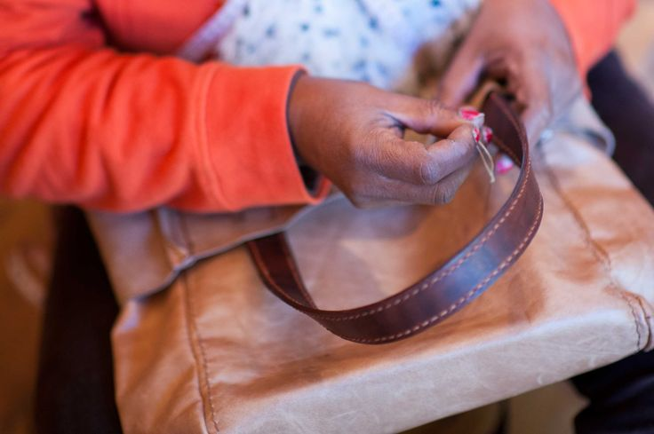 Fraser Muller Leather strives to create work opportunities for local women. These women will acquire new skills while having their creativity encouraged in a healthy and safe environment.