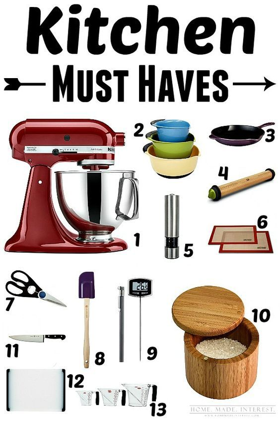 13 Items For Your Kitchen That You MUST HAVE! They Will