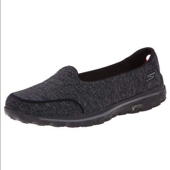 Sketchers Go Walk 2 Skechers Performance Women's Go Walk 2 Bind Slip-On Walking Shoe. Worn twice and and in brand new condition! Skechers Shoes Flats & Loafers