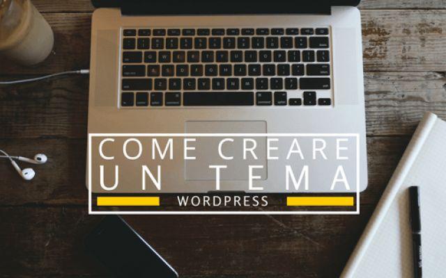 Guida Completa Per Creare Un Tema WordPress 2 Metodi immediati per creare un tema WordPress partendo da zero.  Il primo consiste nello scrivere tutto il codice, imparando a conoscere la magia dei vari template WordPress e soprattutto del pote #wordpress #codice