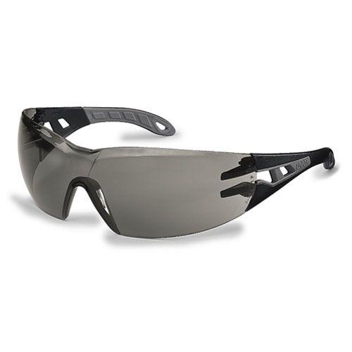 Schutzbrille pheos 23% grau schw/grau bei Kokott.com