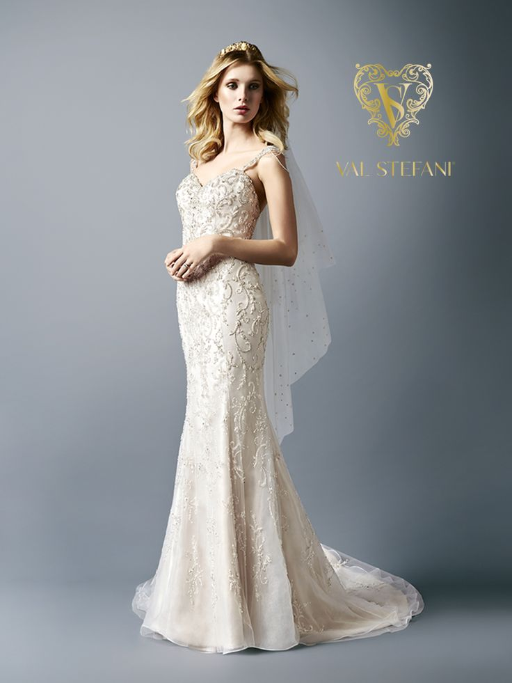 Mermaid Wedding Gown Designs : Best images about sparkle in val stefani on