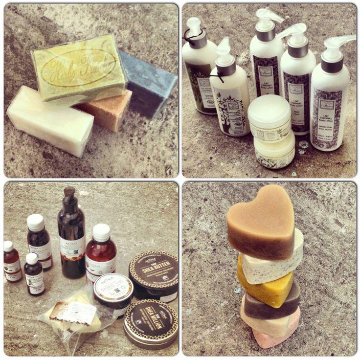 love to be bio  (kecsketejszappan -goat milk soap, Akoma and Colline de Provence)