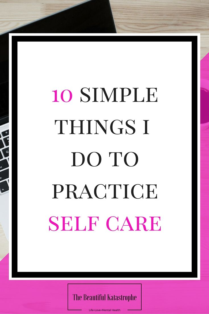 Discovering which self care activities actually work for you is daunting. There's a whole world of activities and pleasures out there after all! Here's a list of 10 the things I do to practice self care that may give you some ideas for your own practice.
