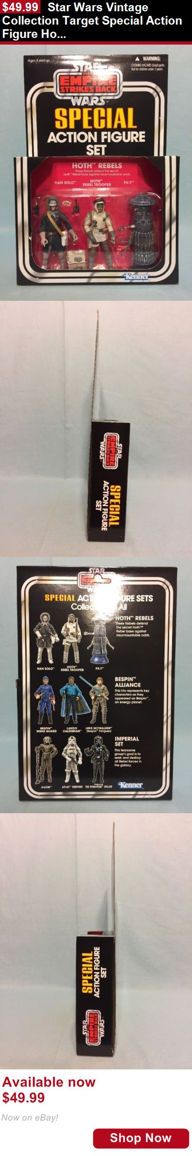 Telescope Filters: Star Wars Vintage Collection Target Special Action Figure Hoth Rebels Set Misp BUY IT NOW ONLY: $49.99