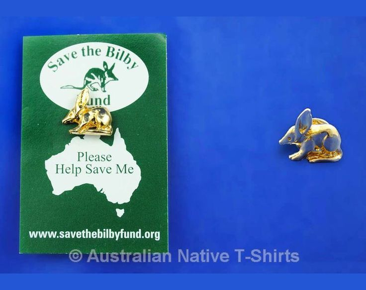 Australian Bilby Hat / Lapel Pin (Carded)