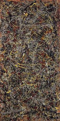 No.5, 1948 – Jackson Pollock – world's most expensive painting | Understanding Paintings