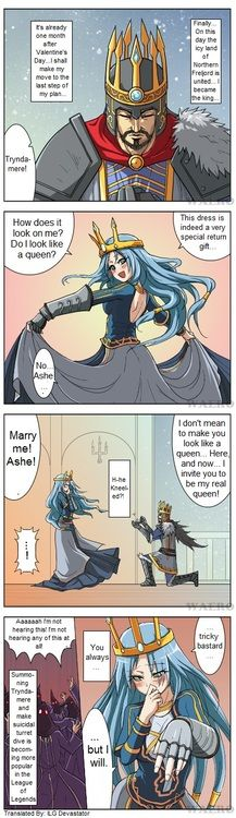 Ashe... Mary me ! (Sneaky Tryndamere)