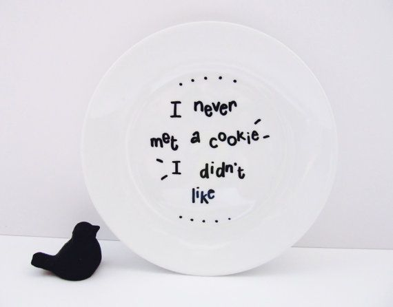 I Never Met A Cookie I Didn't Like by LilyLovesShopping on Etsy