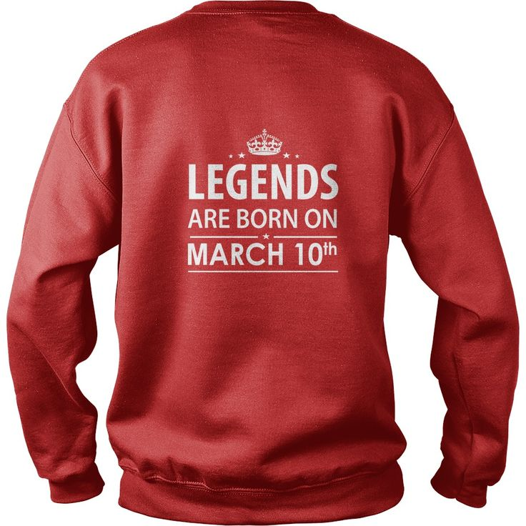 legends are born in TShirt Hoodie Shirt VNeck Shirt Sweat Shirt for womens and Men ,birthday, queens Birthday March 10 copy I LOVE MY HUSBAND ,WIFE | Best T-Shirts USA are very happy to make you beutiful - Shirts as unique as you are.