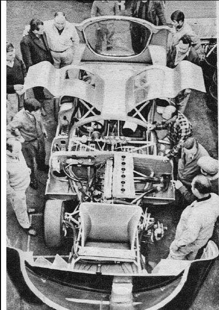 sport prototipo argentino: PAJARO DORADO-CHEVROLET (1969-1970)