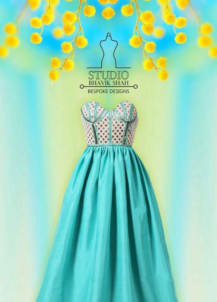 Silk Tube Dress