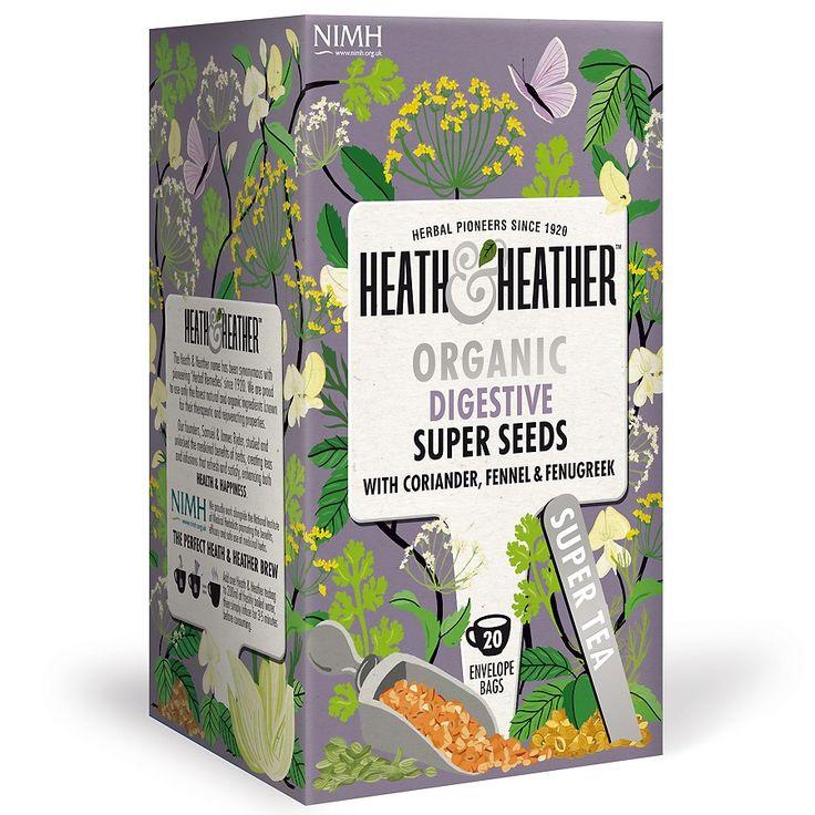 Heath & Heather Infusion Bio Super Seeds 20 Sachets 40g