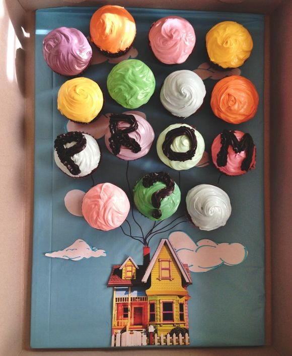 Up cupcakes promposal