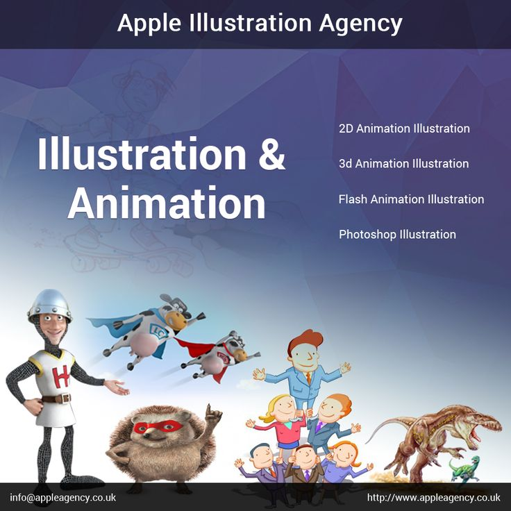We Apple Agency specialized in  1. Visual arts  2. 2D Animation  3. 3D illustration  4. Photoshop illustration  5. Storyboard Artist