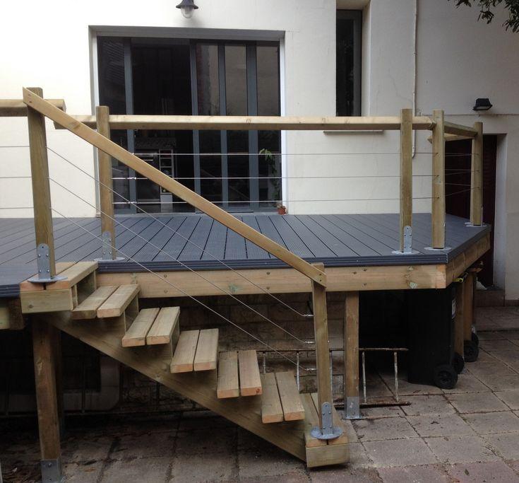 les 25 meilleures id es de la cat gorie terrasse sur pilotis sur pinterest terrasse bois sur. Black Bedroom Furniture Sets. Home Design Ideas