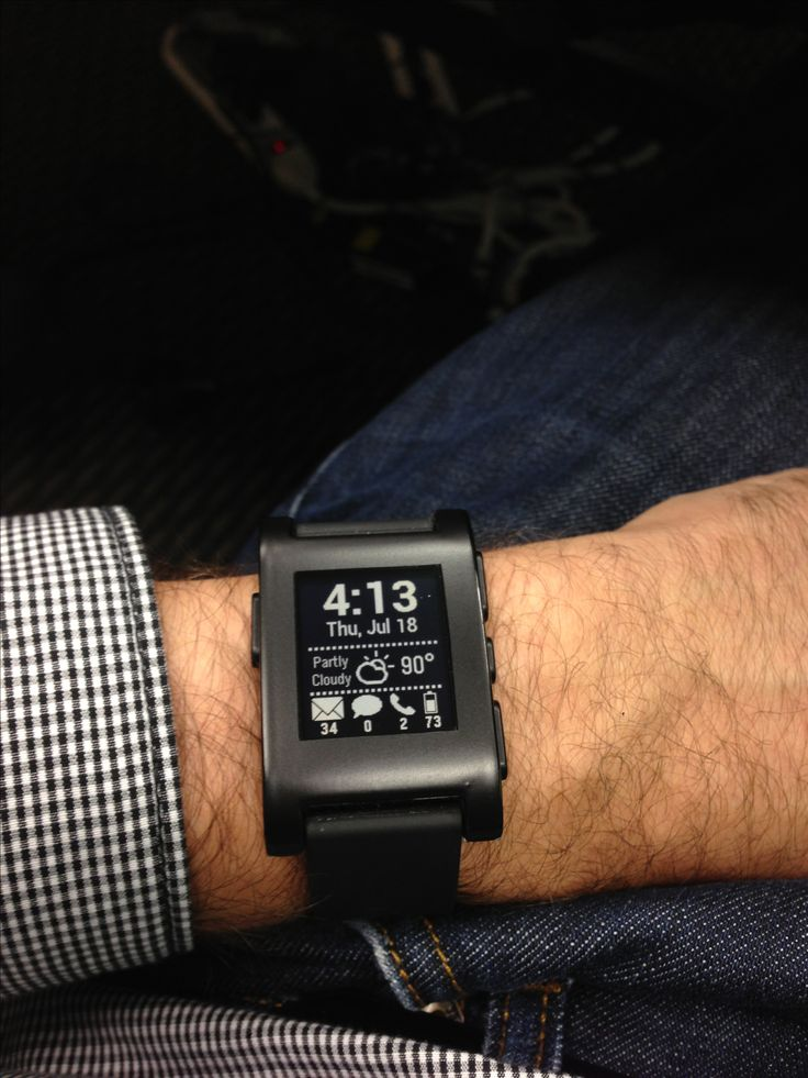 Love my Pebble watch!!  Let me know how you like yours!