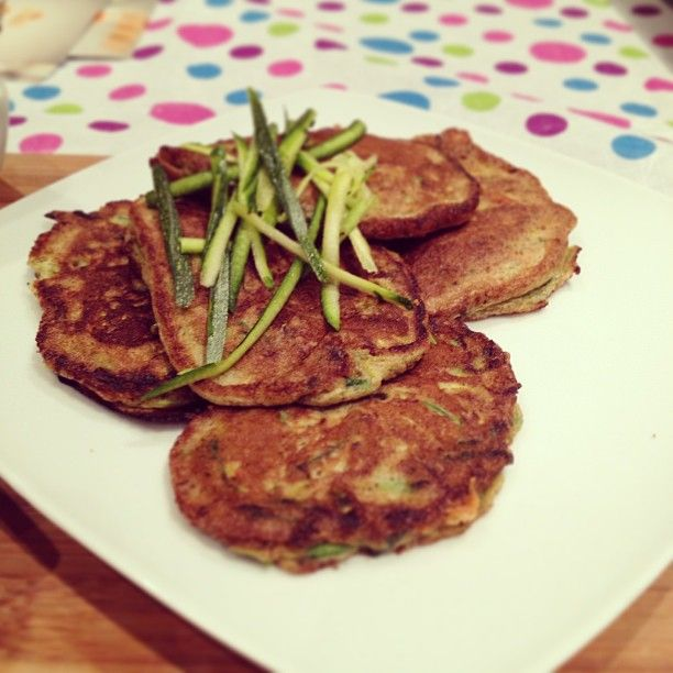 My own version of gluten-free Baby Marrow fritters. Health side dish for dinner! http://instagram.com/p/cmgEgaRxp8/