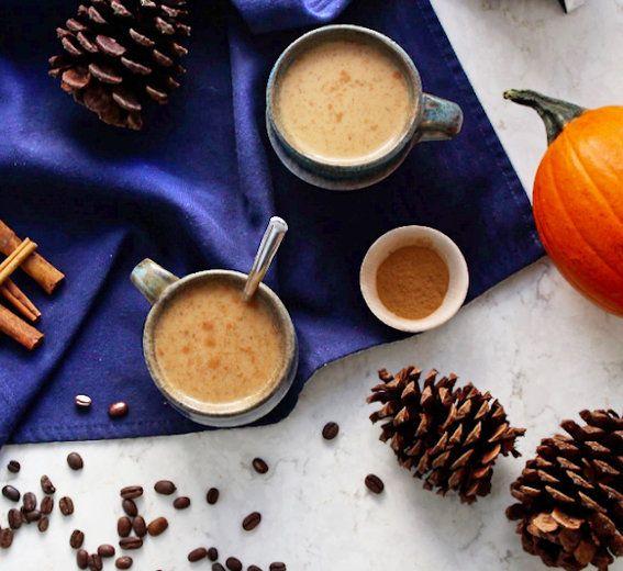 Recipe // Nut Milk + Coffee + Pumpkin Puree + Maple Syrup + Cinnamon + Vanilla Bean + Ginger + Nutmeg + Cloves + Allspice