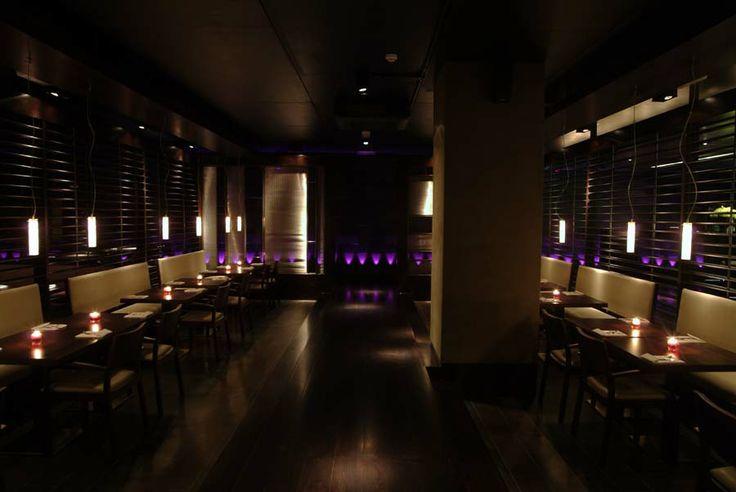 Mint Leaf Lounge - archive shot of the work of into lighting #restaurant #lighting #design