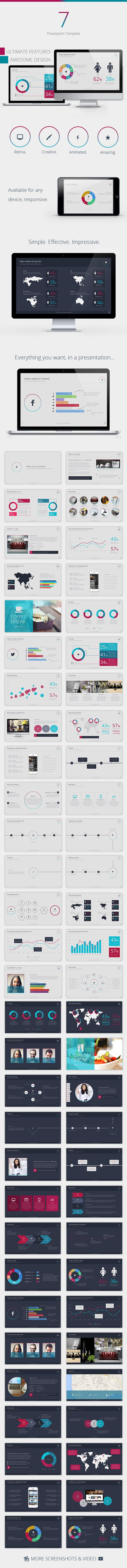 Se7en Powerpoint Template - Creative PowerPoint Templates