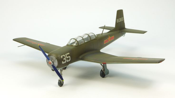 Trumpeter Nanchang CJ-6 (Featured in Issue 4, Volume 36, June 2014 of Scale Aircraft Modelling.)