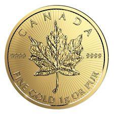 Entdecken Sie die große Vielfalt an Angeboten für Royal Canadian Mint (RCM) Gold Münzen. Riesen-Auswahl führender Marken zu günstigen Preisen online bei eBay kaufen!