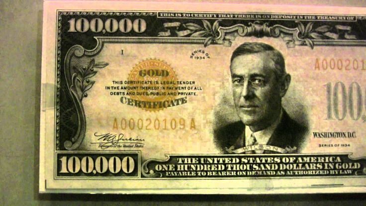 $100000 Dollar Bill - Google Search
