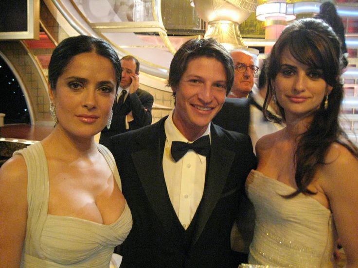 James Katz, Penélope Cruz y Salma Hayek!