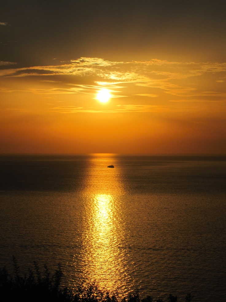 Sunset at Cala Piccola, Monte Argentario, #maremma, #tuscany, #italy.  Shot by Eugenia Cerulli, August 2012
