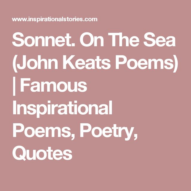 analysis of john keats sonnets It was the last poetical work of keats, was composed in october 1820 on board  the ship that took him from london to italy the sonnet with its measured space.