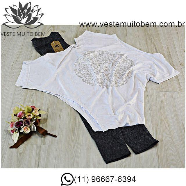 Camiseta mandala  Calça Legging Montaria #vestemuitobem #moda #modafeminina #modaparameninas #estilo #roupas #lookdodia #like4like #roupasfemininas #tendência #beleza #bonita #gata #linda #elegant #elegance
