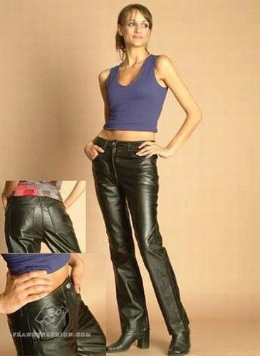Franky Fashion - Women's Soft Leather Jeans, $149.95 (http://www.frankyfashion.com/womens-soft-leather-jeans/)