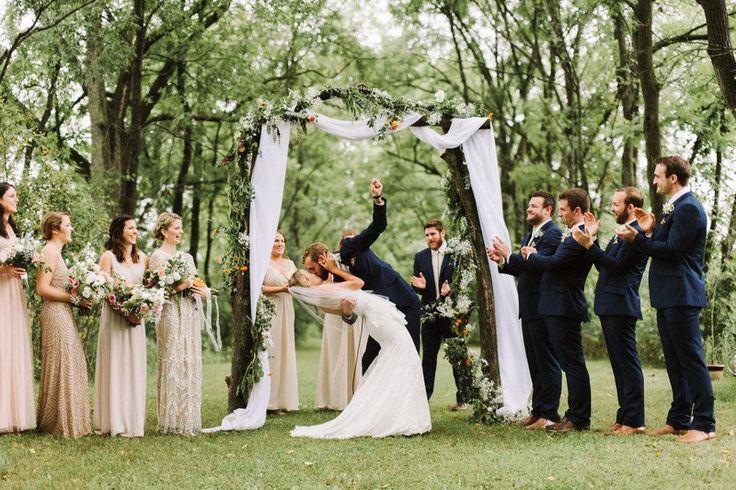 Best 25+ Wood wedding arches ideas on Pinterest   Wood ...