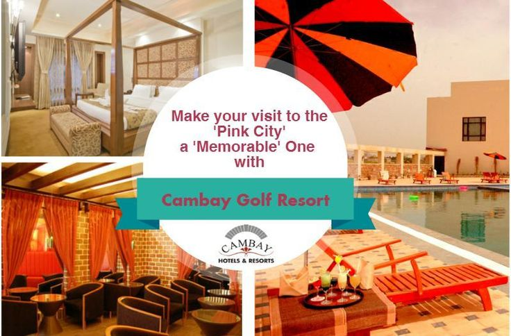 Whether it's a Family Trip or a Business Tour, Golf is a sport that suits them all. If you are in Pink City and need something better than the mediocre resorts available, then 'Cambay Golf Resort' is the perfect place to delight you.. http://bit.ly/2iyqbwB  So bask in the luxury of this game of the aristocrats and make your stay a memorable one in this pink city- Jaipur