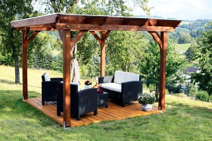 Garden Pavilion Made Of Wood For Every Garden Garden Pavilion