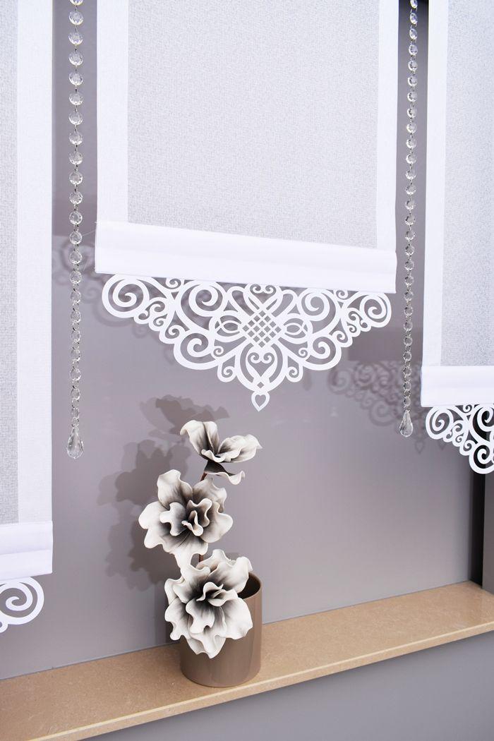Firany Azurowe Azury Panele Ekrany Szer 50 60 70cm 6826547699 Allegro Pl Wiecej Niz Aukcje Window Glass Design Curtains And Pelmets Curtain Decor