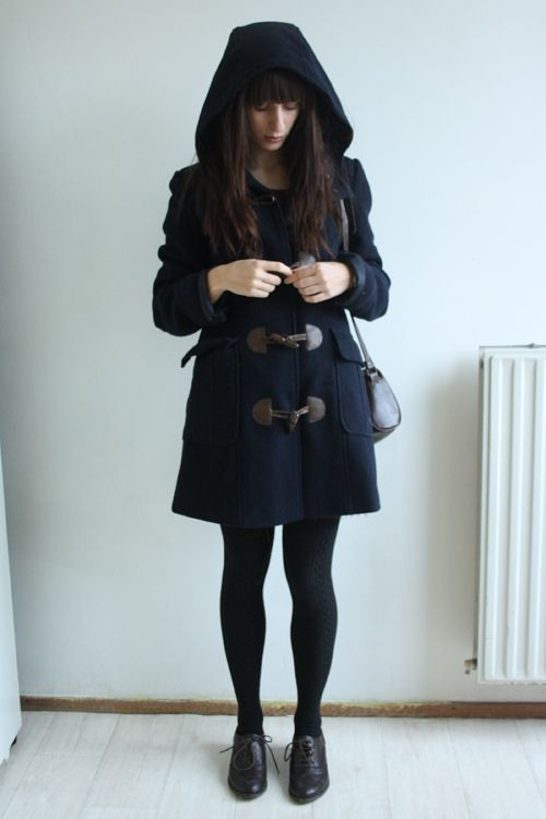I want a wonderful duffel coat like this one!