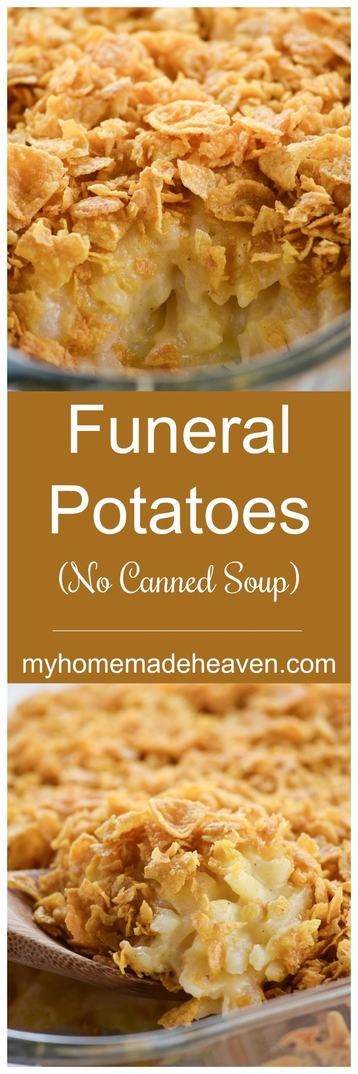 Love these potatoes! And no canned soup! Perfect!